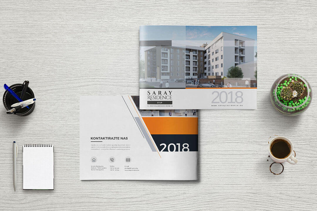 Project Saray Residence Real Estate, Catalog, Graphic Design