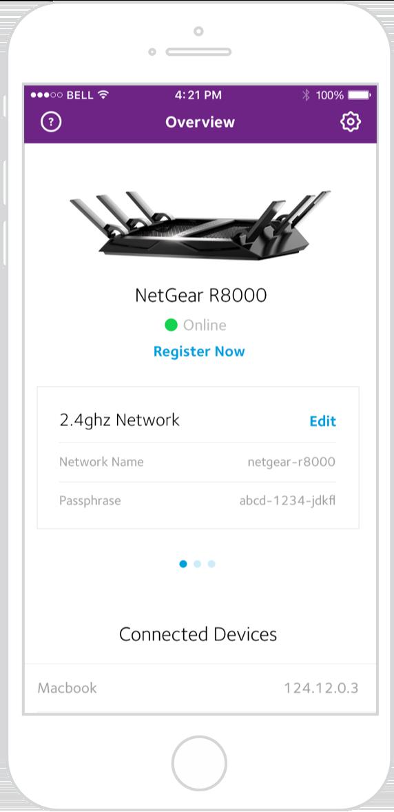 Netgear wifi app