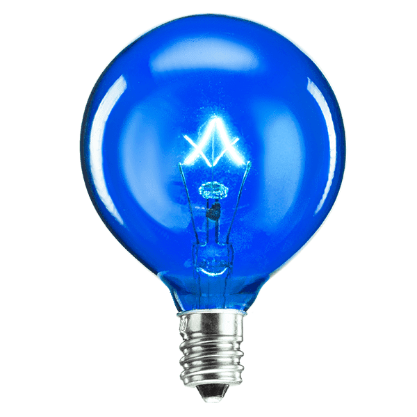 25 Watt Light Bulb - Blue