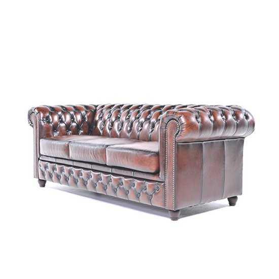 The Original Chesterfield Brighton 3zitsbank Zetel Salon Antiek Bruin 550x550 3