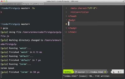 ใช้งาน Gulp.js
