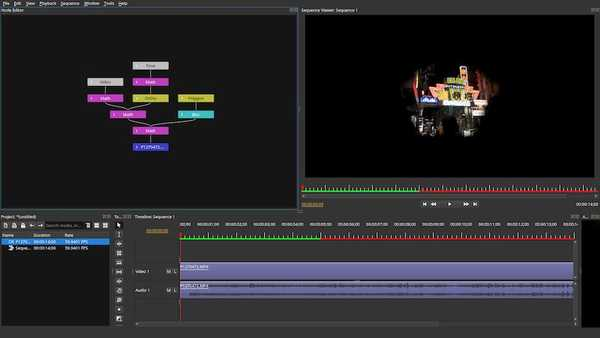 Olive free video editing software