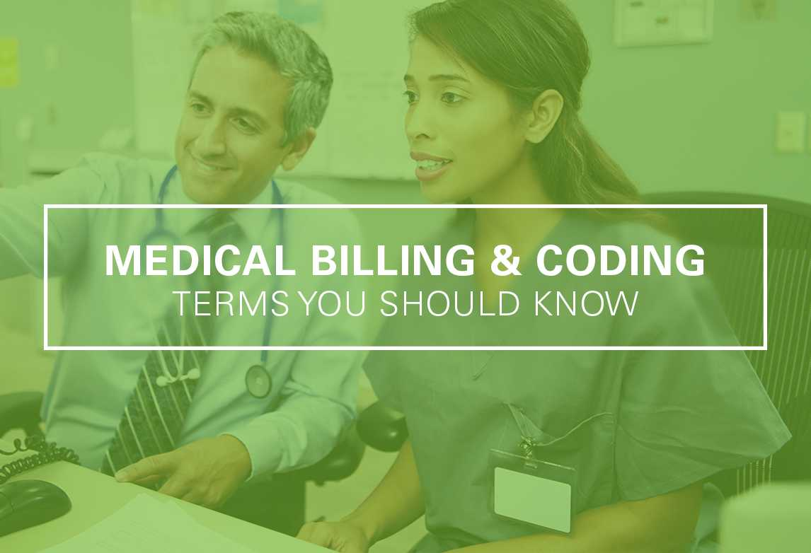 Medical Billing and Coding Terms to Know