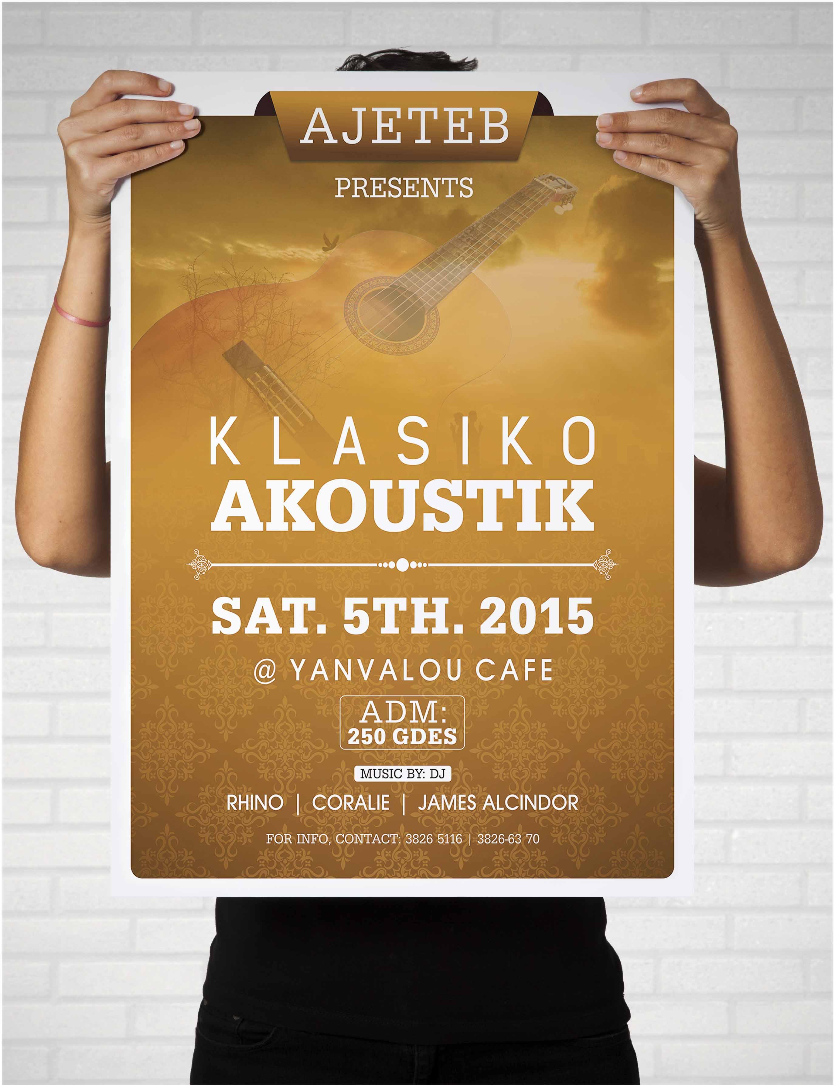 klasiko Akoustic Poster
