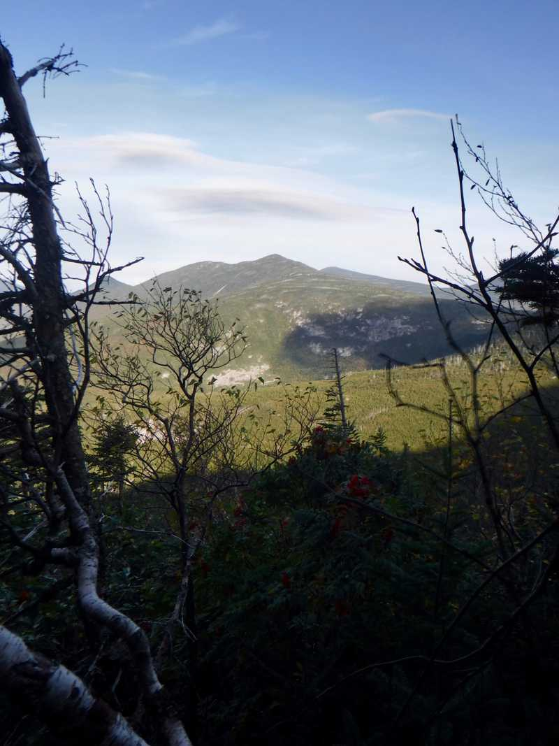 VIew from side of Mt. Katahdin