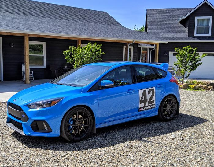Ford RS Suspension Upgrade