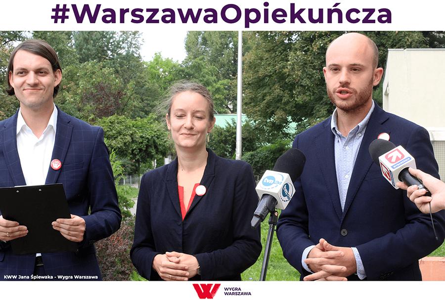 Warszawa opiekuńcza - Nasze społeczeństwo się starzeje. Już teraz co dziesiąty mieszkaniec Warszawy to osoba z niepełnosprawnością bądź osoba potrzebująca różnych form pomocy. Polityka społeczna musi stać się ważną częścią polityki miejskiej. Dlatego przedstawiamy kolejny punkt programu Wygra Warszawa - #WarszawaOpiekuńcza