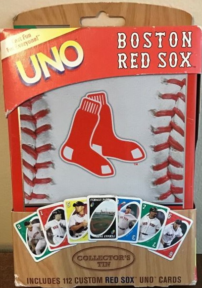 Boston Red Sox Uno (2010)