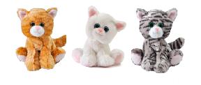 """The Petting Zoo: 7"""" Miniz Cat Assortment"""