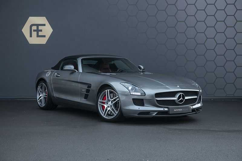 Mercedes-Benz SLS Roadster 6.3 AMG Carbon Pack + MIDDLE GRAY HIMALAYAS + Full Carbon Motor afdekking afbeelding 3
