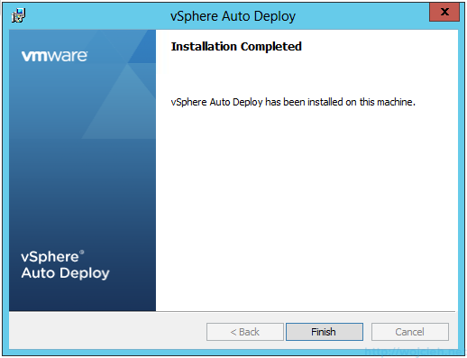 VMware vSphere Auto Deploy installation guide - software 10