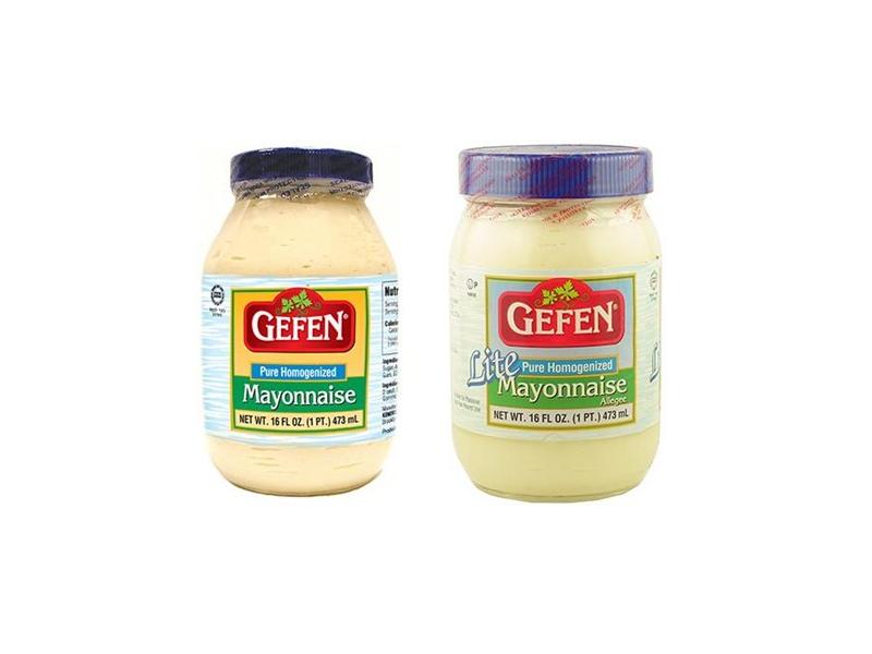 Gefen Pure Homogenized/Lite Mayonnaise (473ml)