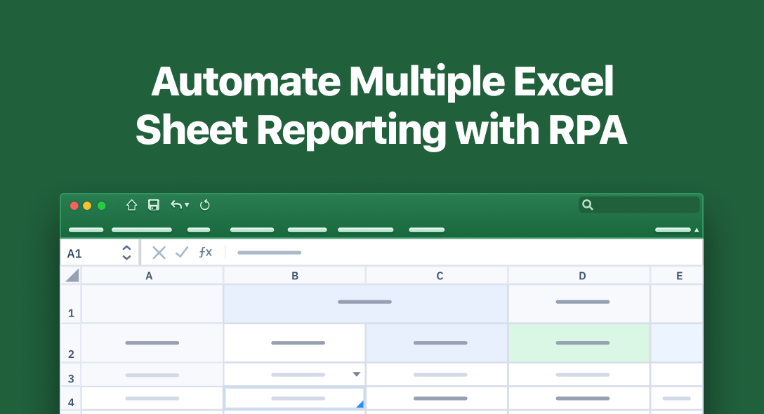 Automate Multiple Excel Sheet Reporting with RPA