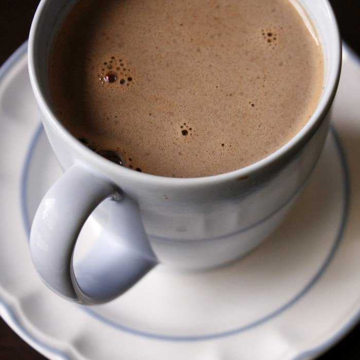 Microwave Hot Cocoa Cocktail