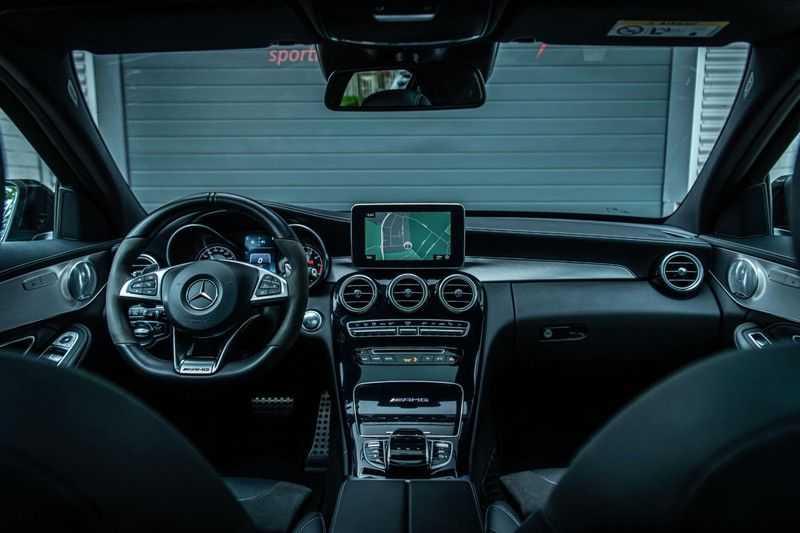 Mercedes-Benz C-Klasse 63 AMG, 476 PK, Pano/Dak, Distronic, Night/Pakket, Burmester, LED, Keyless, 30DKM, Nieuwstaat, BTW!! afbeelding 5