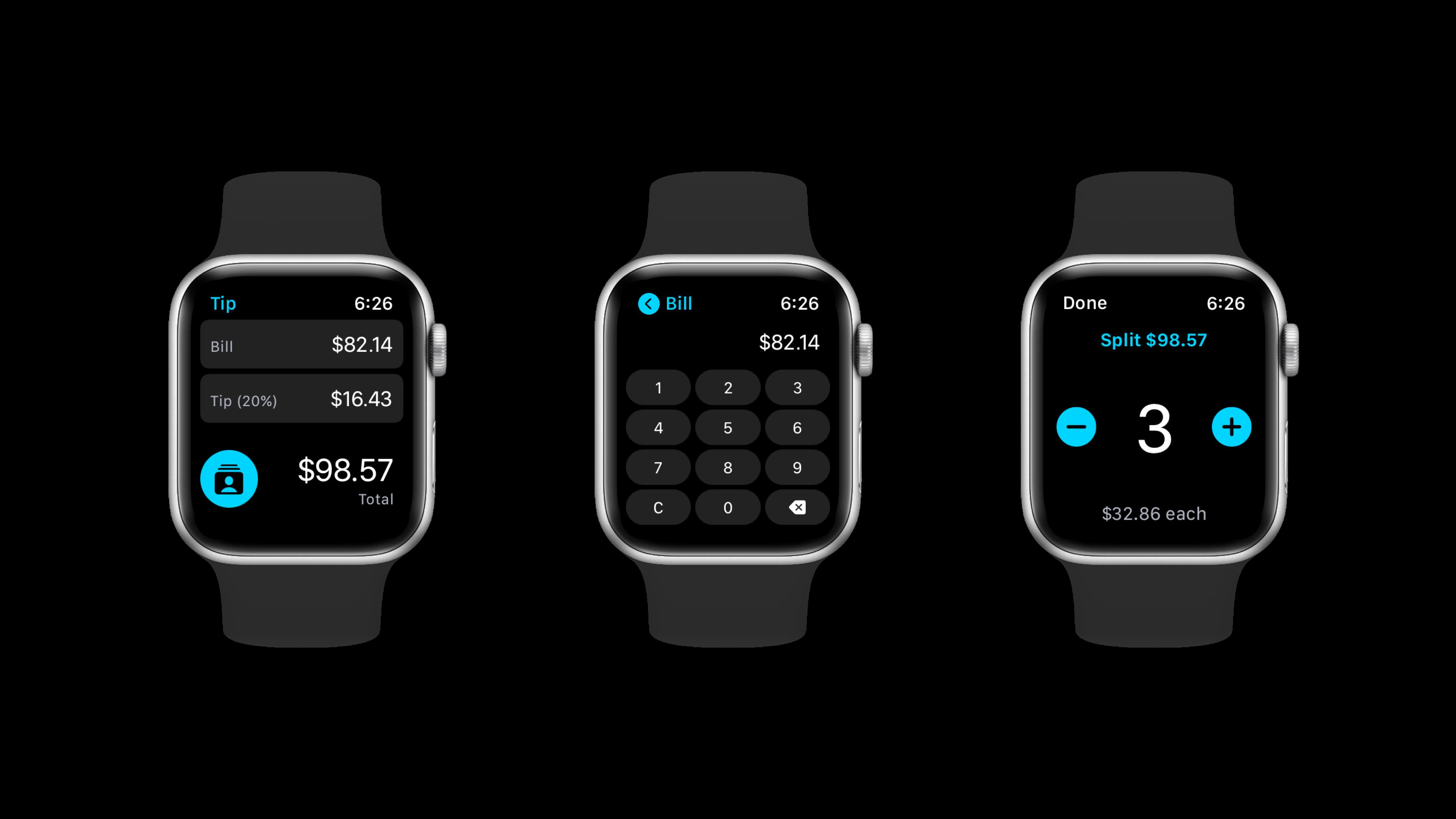 Tip App - watchOS App
