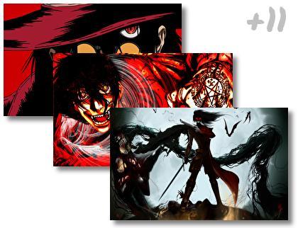 Hellsing theme pack