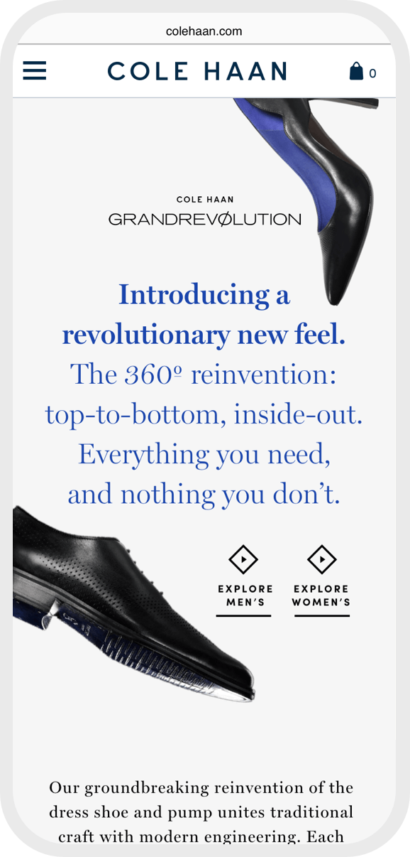 Cole Haan mobile 1