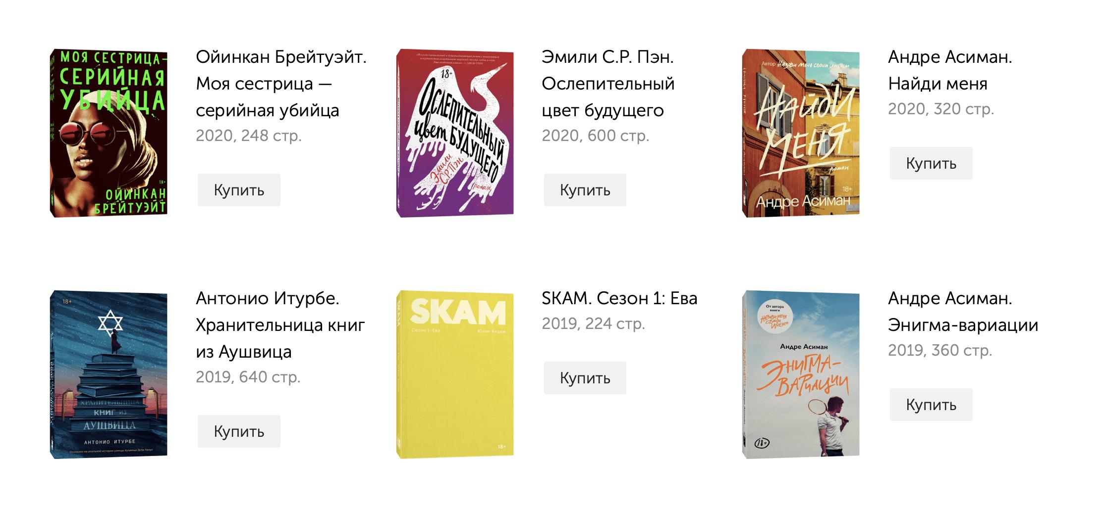 Адаптированные обложки Popcorn Books
