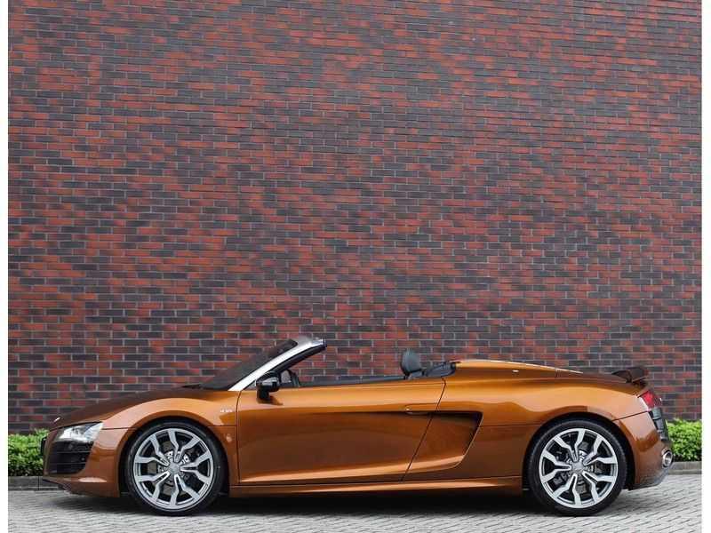 Audi R8 Spyder 5.2 V10 FSI *Magnetic Ride*B&O*Camera* afbeelding 17