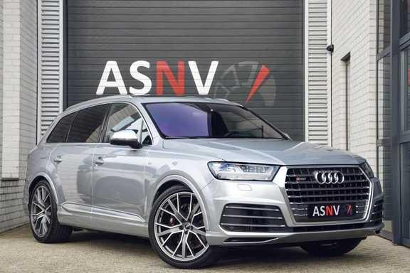 Audi SQ7 4.0 TDI Quattro Pro Line + , 435 PK, Valcona/Leder, Pano/Dak, 2017, Bose, 22'', Elekt. Trekhaak, 79DKM!!