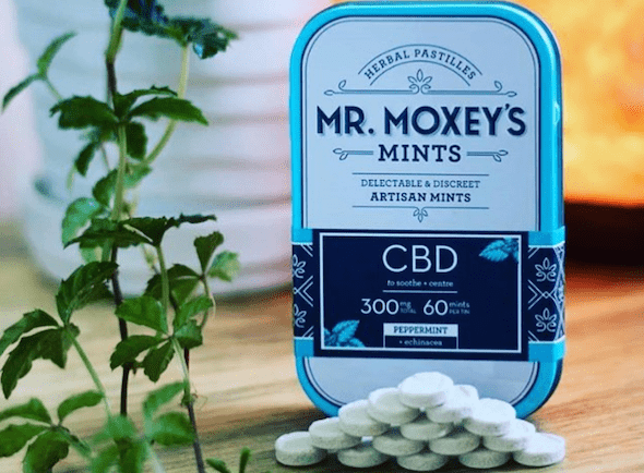 Mr. Moxey's Mints CBD Peppermint Mints