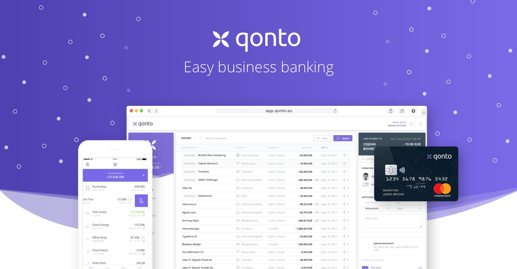 notre avis sur qonto la banque en ligne pro cashnotify