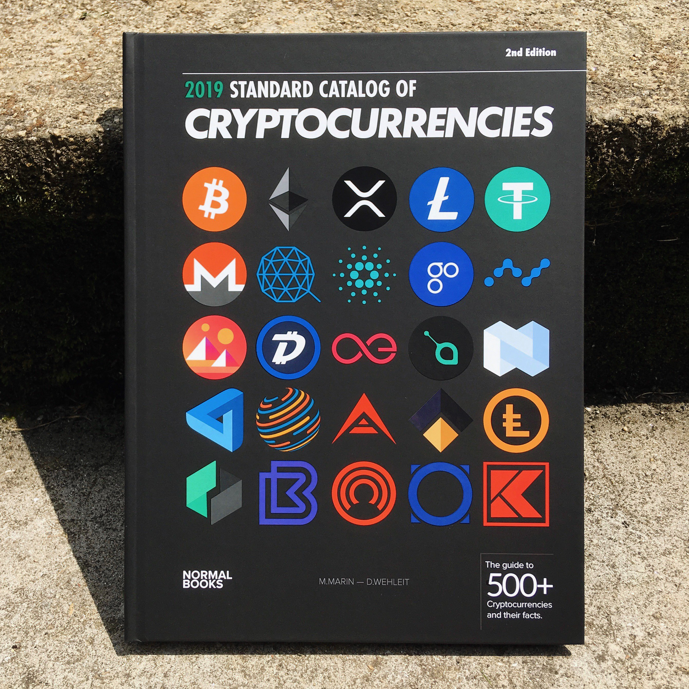 The 2019 Edition of the Cryptocurrencies Catalog is getting shipped worldwide