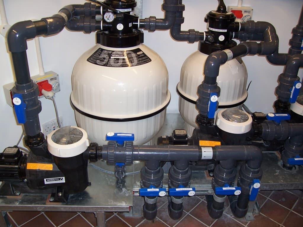 Pool filtration equipment