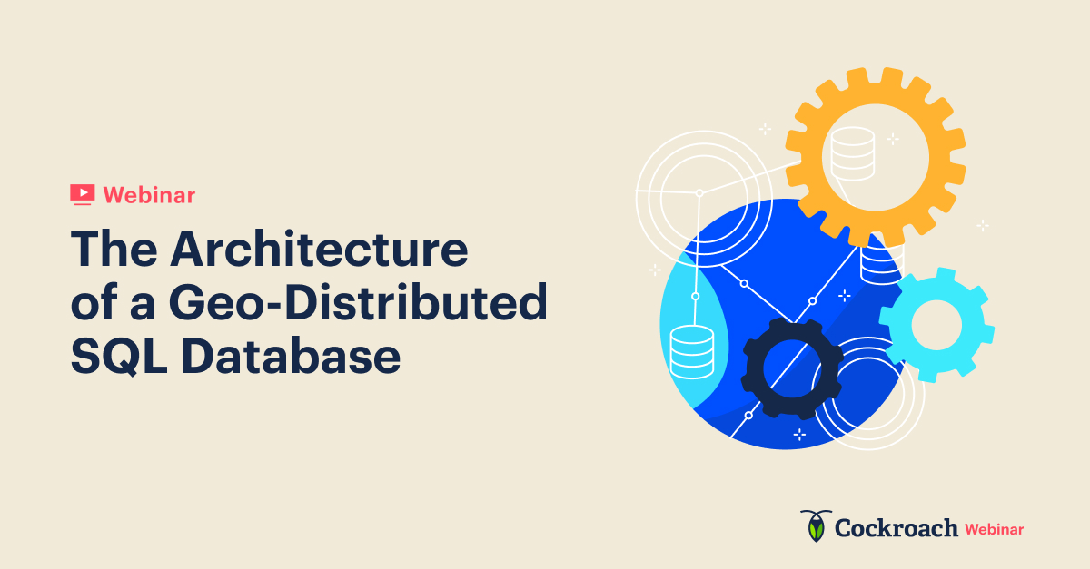The Architecture of a Geo-Distributed Database