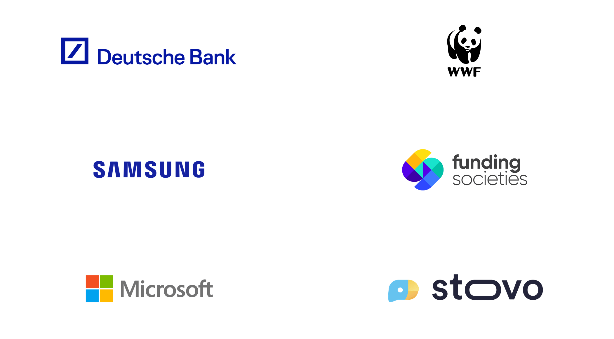 Some of the companies I've worked with.