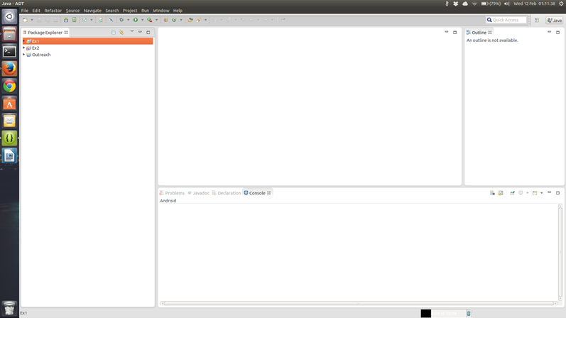 Eclipse interface