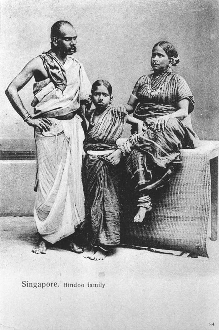 Indian family, 1890s