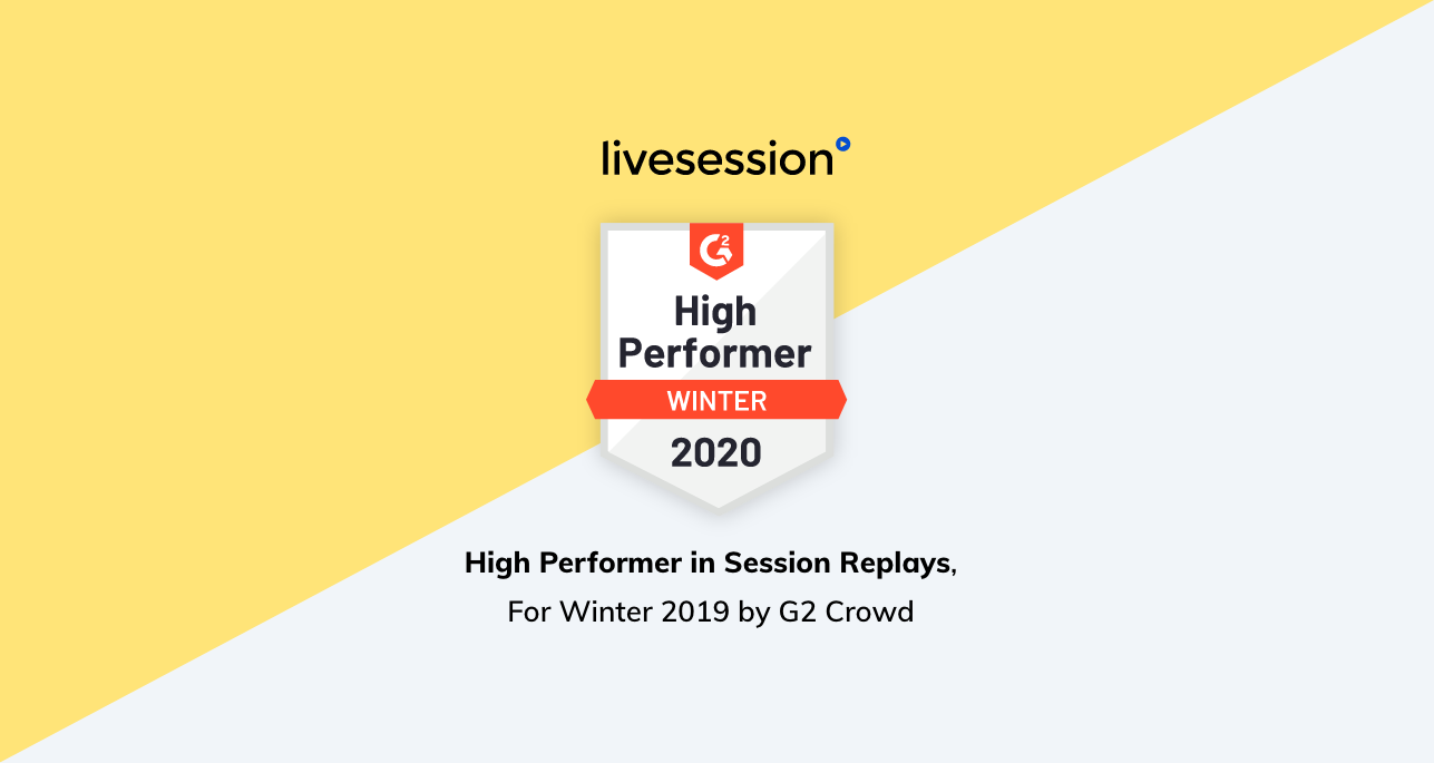 Winter 2019: LiveSession Named a G2 High Performer (Again)