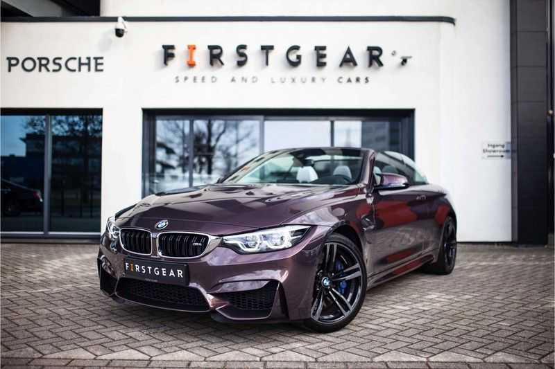 "BMW M4 Cabrio *Handgeschakeld / M-Sportuitlaat / Memory / HUD / 19"" / H&K* afbeelding 1"