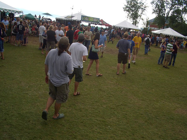 The Annual Vermont Brewers Festival in Downtown Burlington, VT