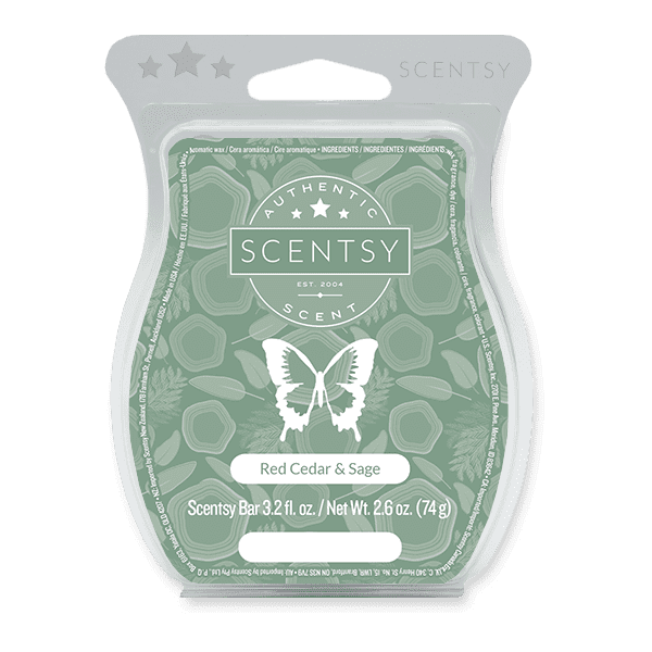 Picture of Red Cedar & Sage Scentsy Bar