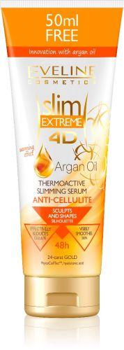 EVELINE Slim Extreme 4D termoaktív anticellulit karcsusító szérum argán olajjal 250 ml
