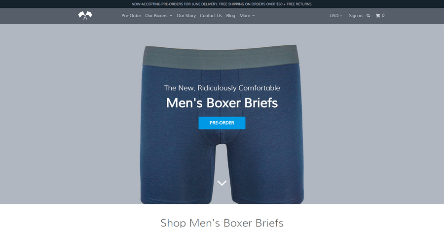 Comfortable Men's Boxer Briefs I ComfortableBoxers_com - comfortableboxers_com