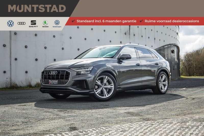 Audi Q8 55 TFSI quattro 340PK | Pano.dak | S-Line | 360 Camera | Adapt.cruise | Head-Up | B&O Advanced Sound | Massage/ventilatie/verwarmde Stoelen | Matrix LED | Full option | afbeelding 25