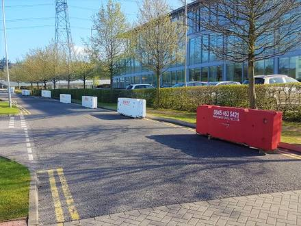 Concrete Road Barriers – Portsmouth
