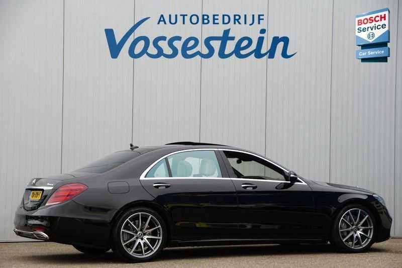 Mercedes-Benz S-Klasse 560 4Matic Lang Premium Plus 470pk / AMG / Nwpr: E186.000,- / Full Options! afbeelding 2