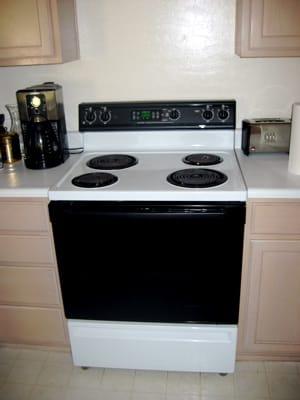 Ghetto old stove