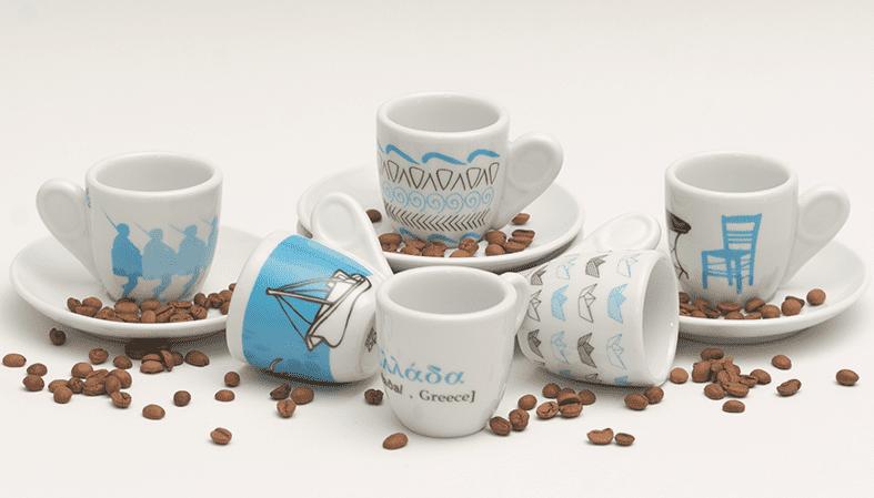 Espresso porcelain cup Kafenio
