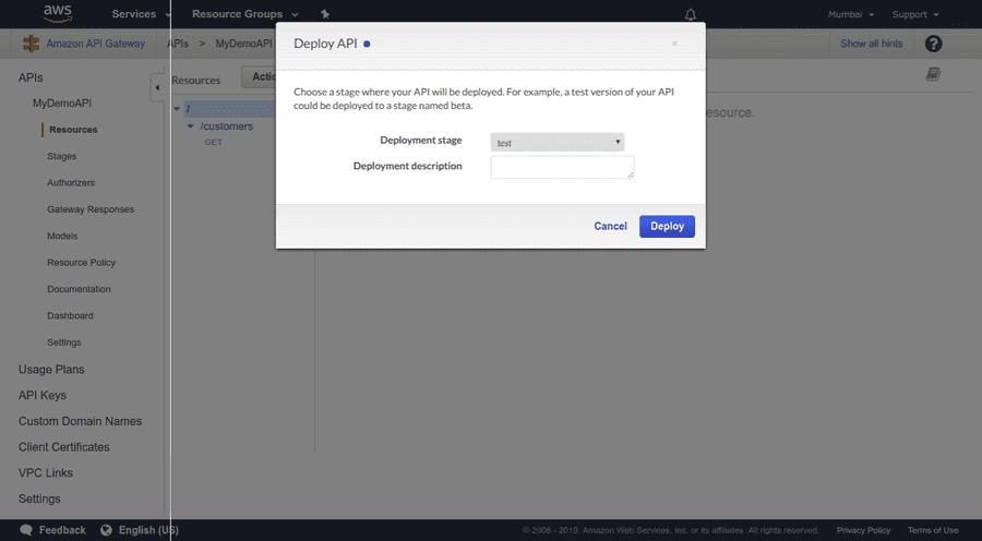 Redeploy API