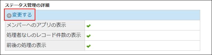 変更する操作リンクが赤枠で囲まれた画像