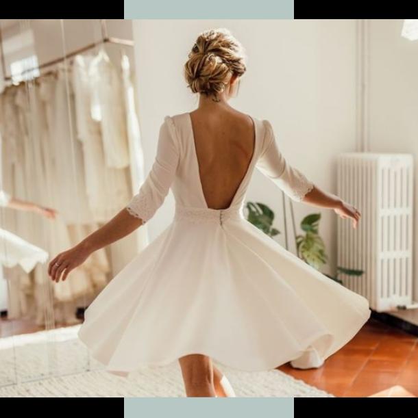 Transformer sa robe de mariée