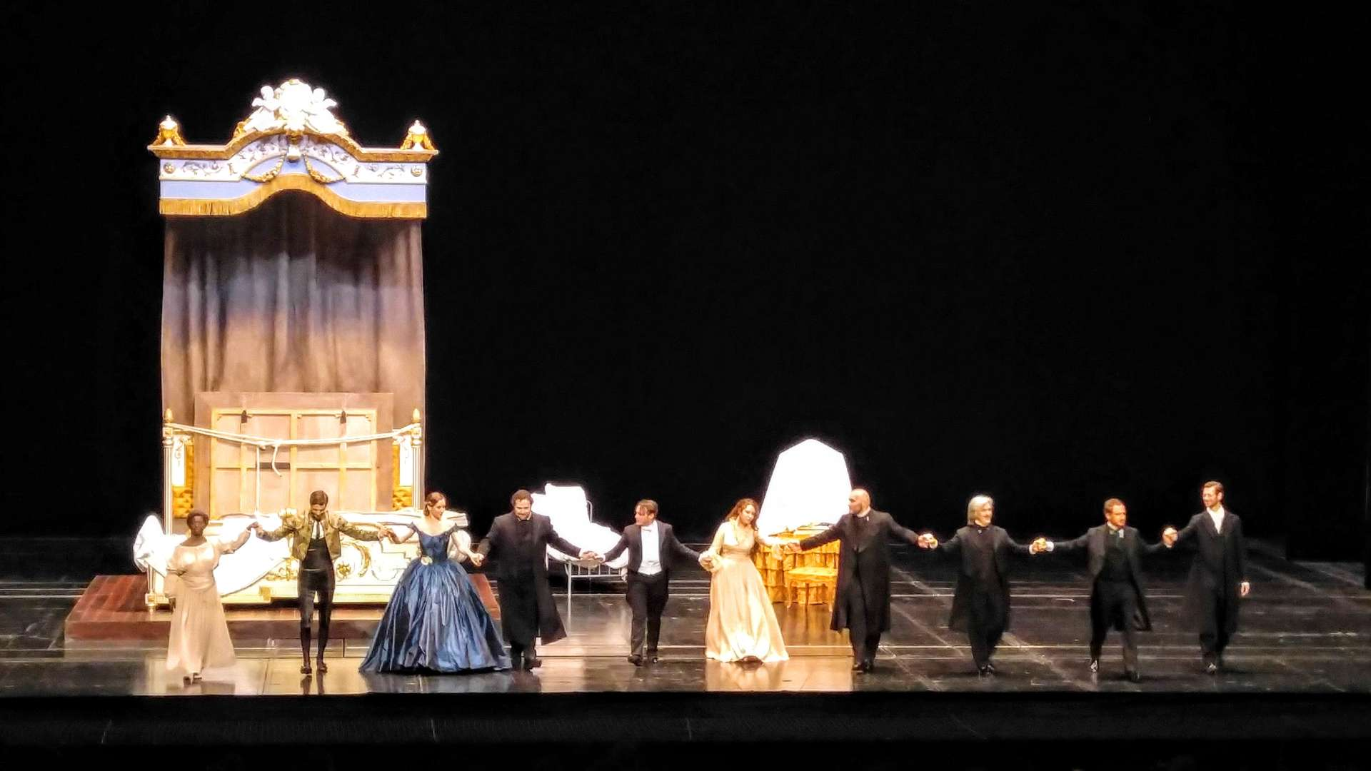 Curtain Call, La Traviata, Opéra national de Paris, 1 June 2016