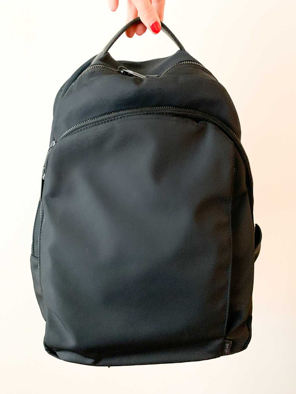 away backpack in black