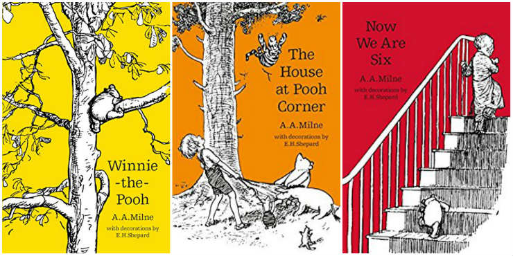 Winnie the Pooh, The House at Pooh Corner, Now We Are Six